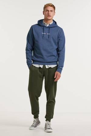 hoodie met biologisch katoen twilight navy