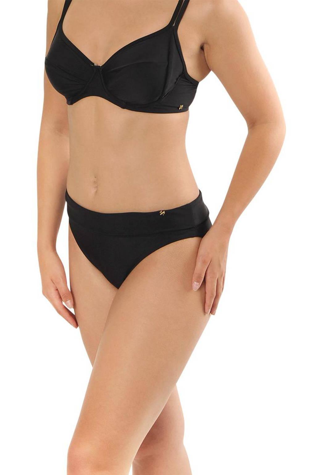 Gottex X Sapph omslag bikinibroekje Eva zwart, Zwart