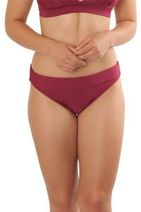 Gottex X Sapph omslag bikinibroekje Eva donkerrood, Donkerrood
