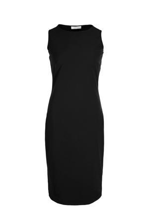 jurk Christie van travelstof zwart