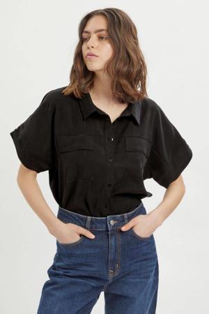 top MWIris SS Shirt zwart