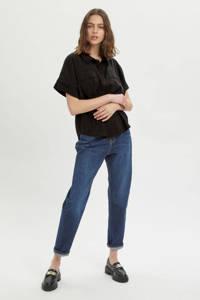 My Essential Wardrobe top MWIris SS Shirt zwart, Zwart