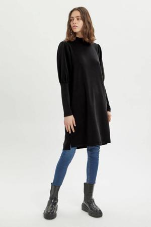 jurk MWElle Puff Dress zwart