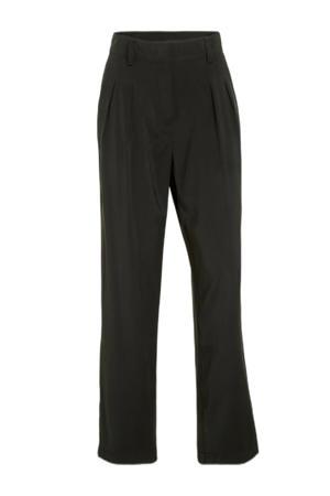 cropped high waist straight fit pantalon MWIris Pants beige