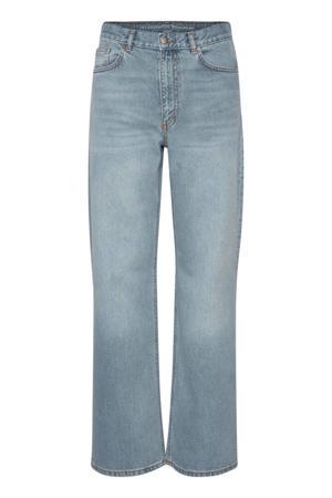 high waist wide leg jeans MWLouis light denim