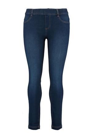 low waist slim fit tregging dark blue