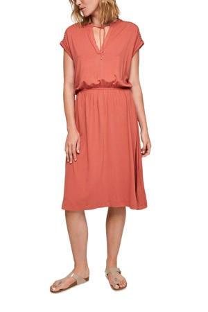A-lijn jurk oranje