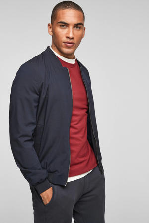 regular fit shirt rood