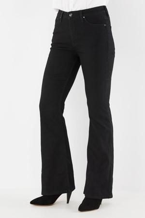 flared jeans black rinsed