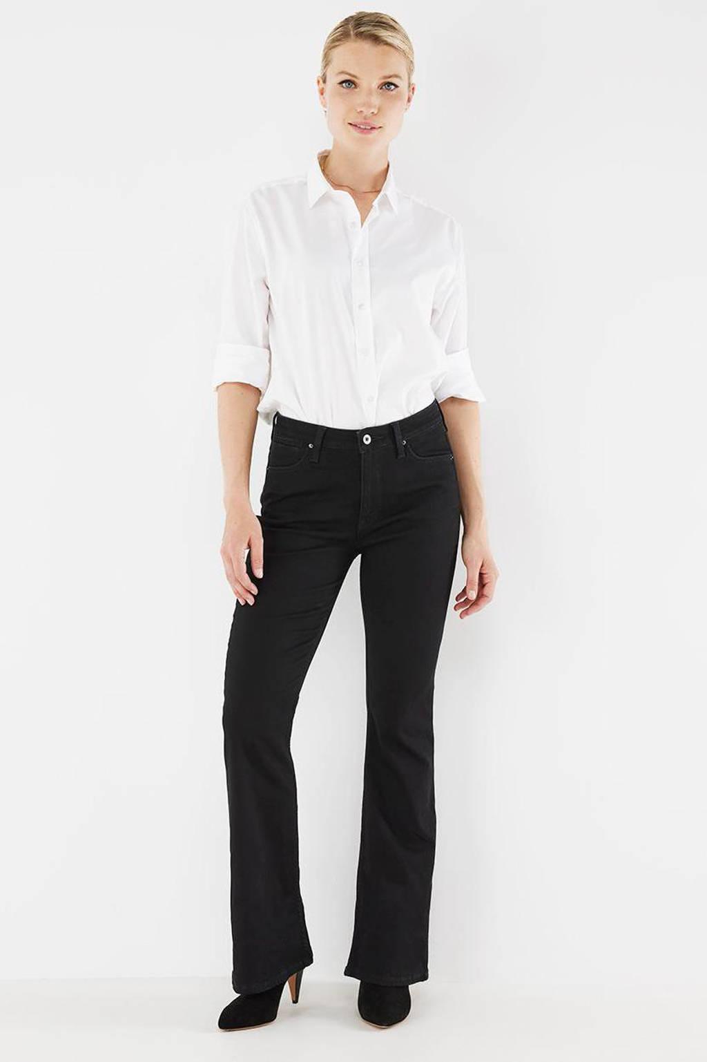 Mexx flared jeans black rinsed, Black Rinsed