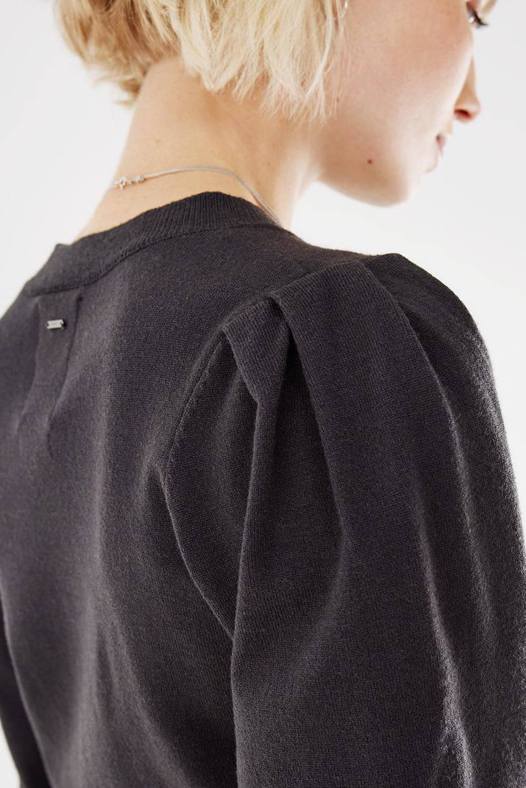 Mexx gebreide jurk zwart, Zwart