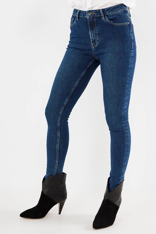 Mexx high waist skinny jeans dark blue, Dark Blue