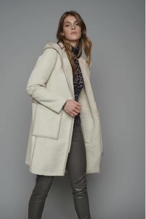 reversible coat Ova ecru