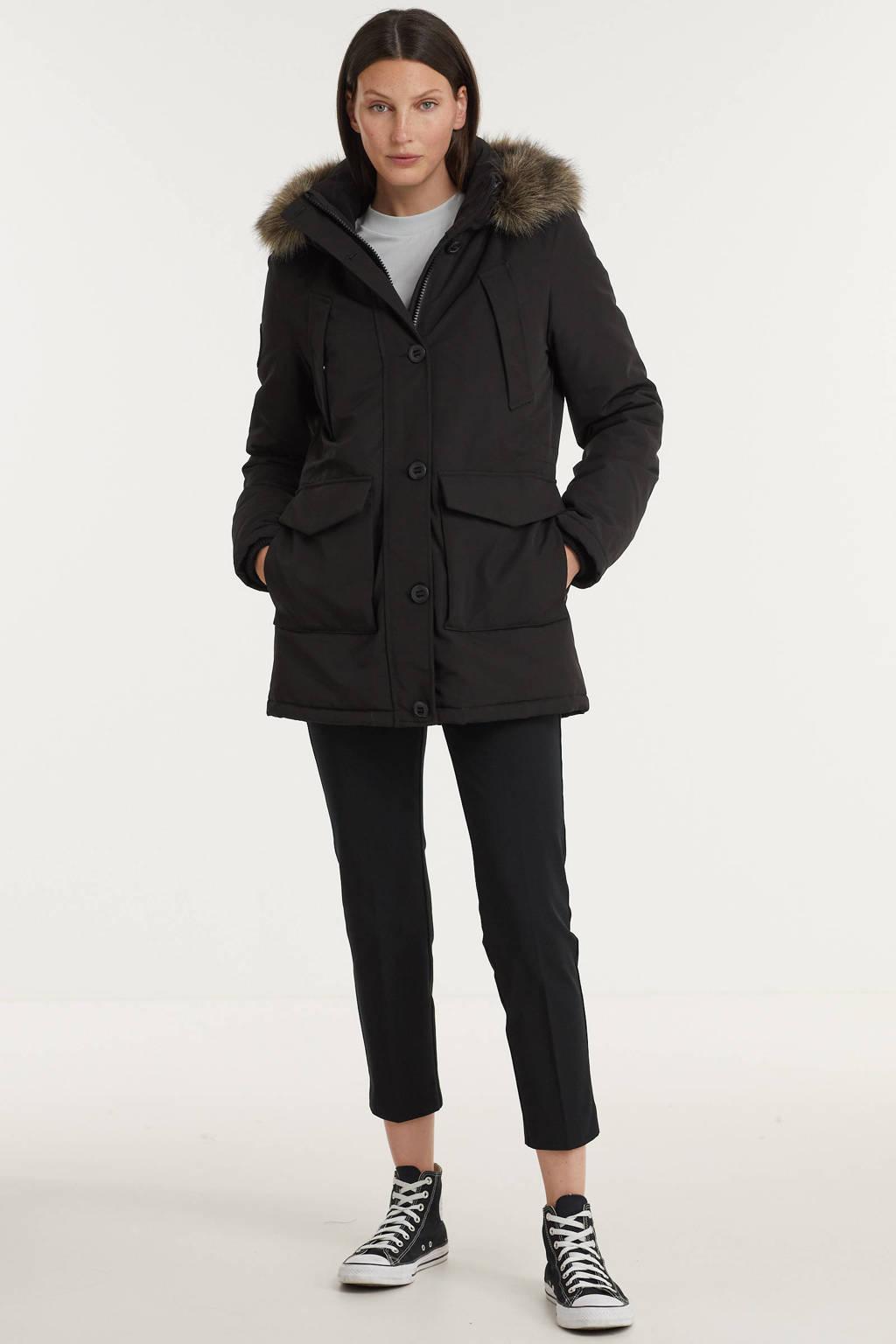 Superdry jas Everest zwart, Zwart