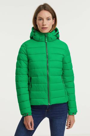 gewatteerde jas Classic Fuji groen