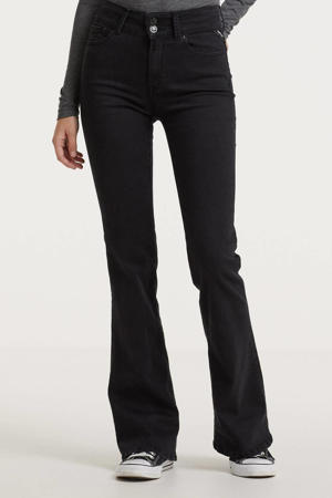 high waist flared jeans NEW LUZ FLARE antraciet