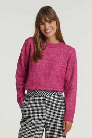 gebreide trui VIELLA met wol roze