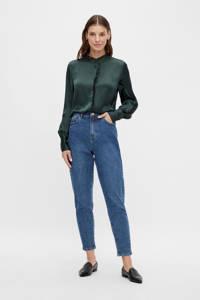VILA blouse VICAJSA van gerecycled polyester groen, Groen