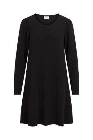 A-lijn jurk VIMINSO van gerecycled polyester zwart