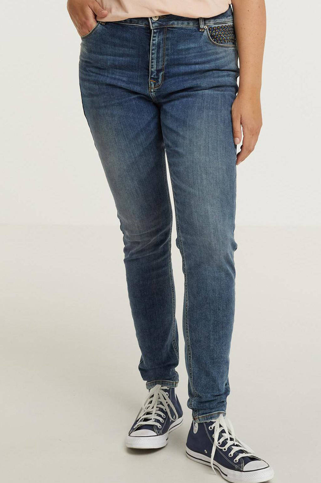 LTB skinny jeans ALVENA 53407 jama studs wash, 53407 Jama Studs Wash