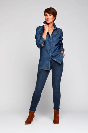 blouse Darren donkerblauw
