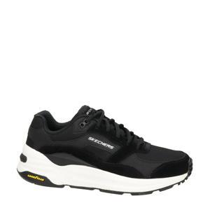 Global Jogger  suède sneakers zwart