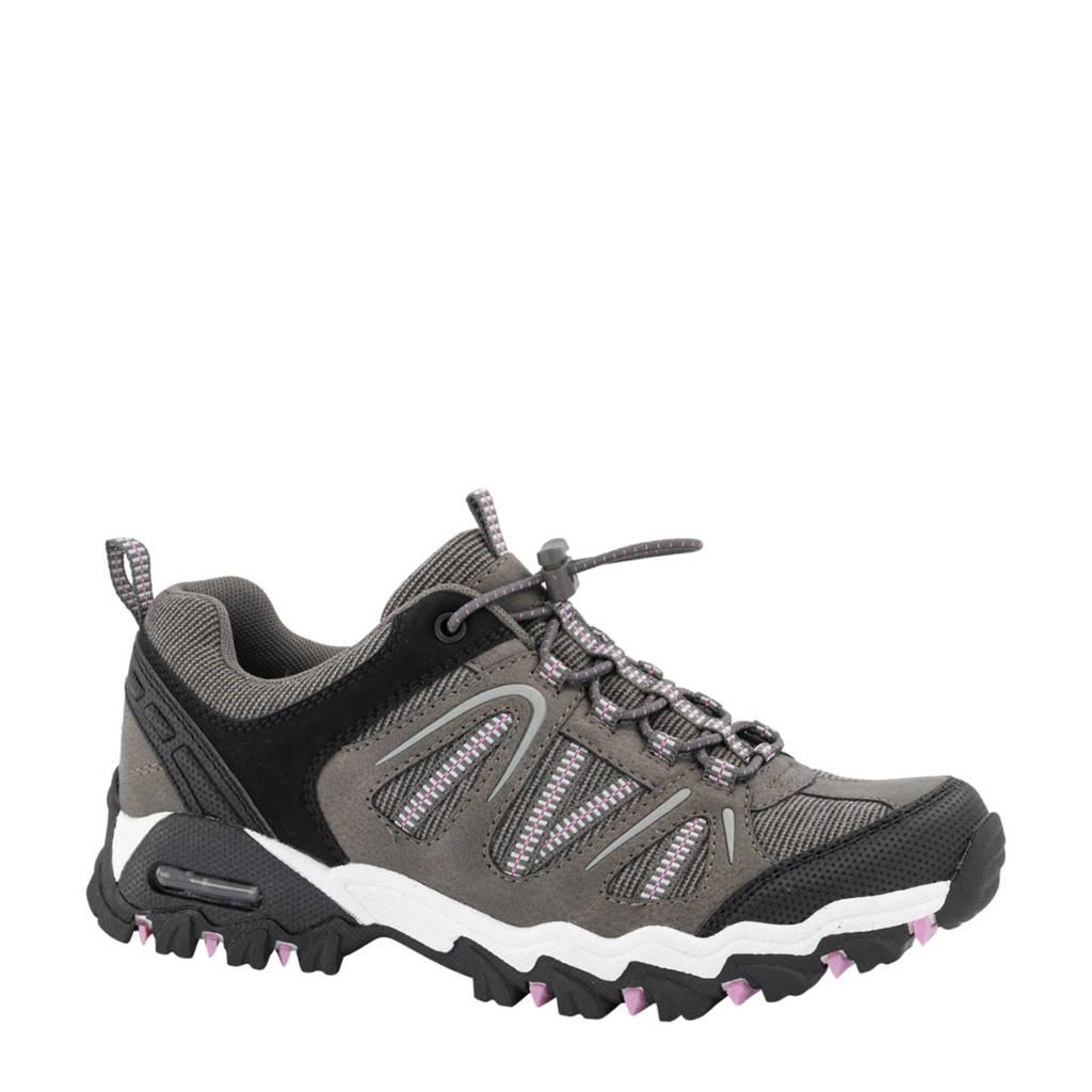 Landrover   wandelschoenen grijs, Grijs/zwart/roze