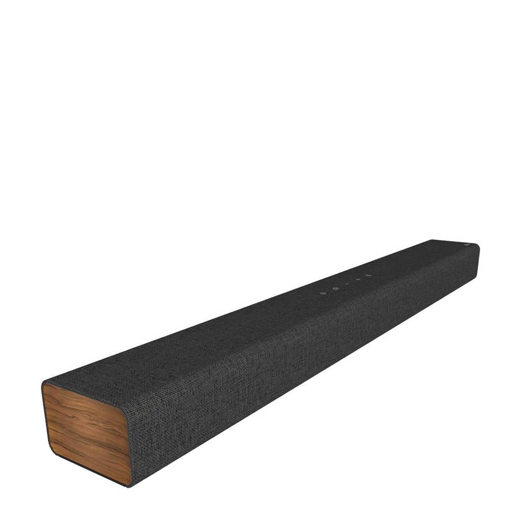 LG DSP2 soundbar, Black,Wood colour