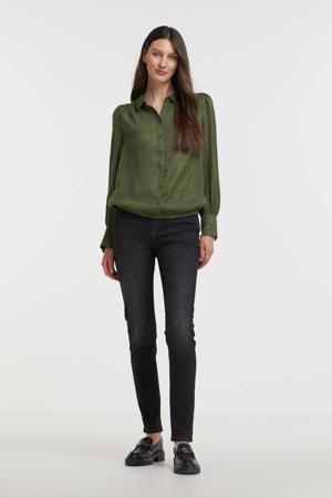 blouse FQHOLIDAZE-PU groen