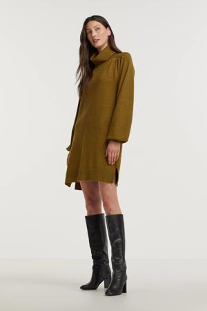 gebreide jurk FQCLAURA groen