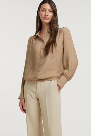 blouse FQHOLIDAZE-PU beige