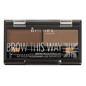 Brow This Way Kit Wenkbrauwpoeder - 002 Brown