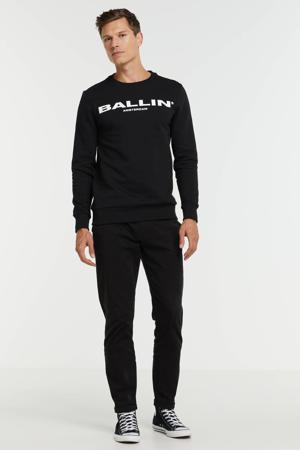 sweater van biologisch katoen black