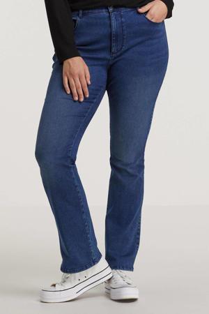 flared jeans CARAUGUSTA dark blue denim
