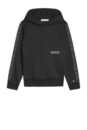 hoodie Boys Pullovers & Sweats met logo zwart
