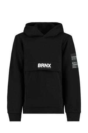 hoodie Scot met logo zwart