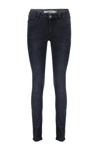 Geisha skinny jeans dark grey denim, Dark grey denim