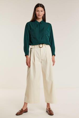 blouse donkergroen