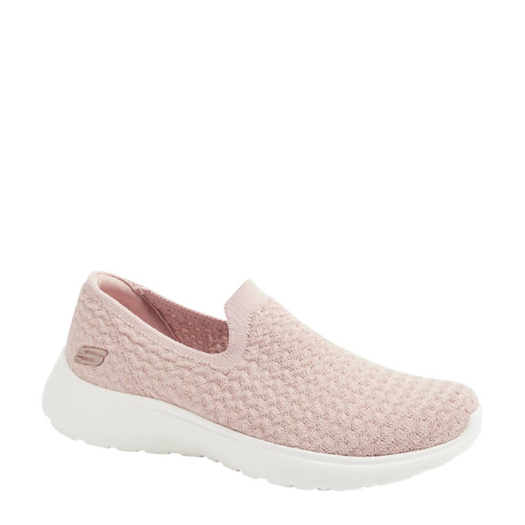 Skechers   instappers met glitters roze, Roze