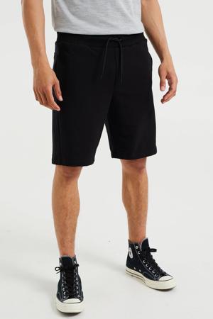 regular fit short black uni