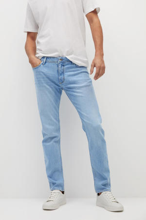 slim fit jeans changeant blauw