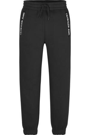 joggingbroek met logo zwart
