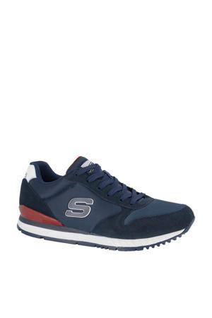 sneakers blauw/rood