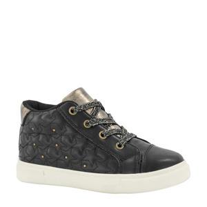 sneakers met studs zwart