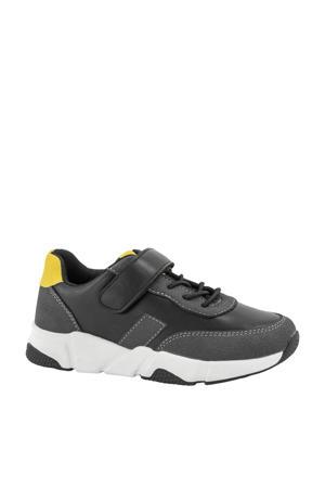 sneakers grijs/geel