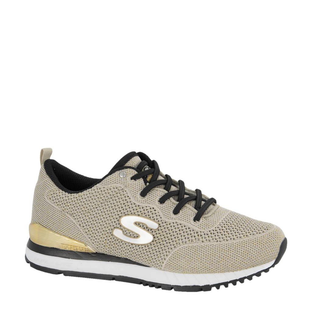 Skechers   sneakers goud, Goud
