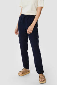 C&A tapered fit broek donkerblauw, Donkerblauw