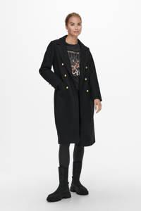 ONLY  coat ONLMARIE zwart, Zwart