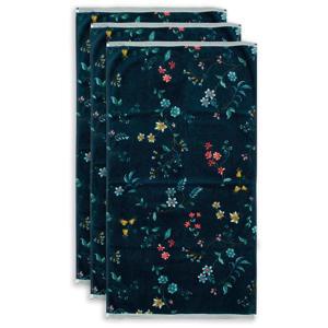 handdoek Les Fleurs (set van 3) (100x55 cm)