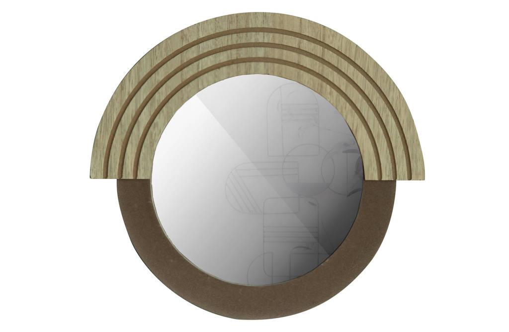 WOOOD Exclusive spiegel Hailey   (33x1,5 cm), Naturel